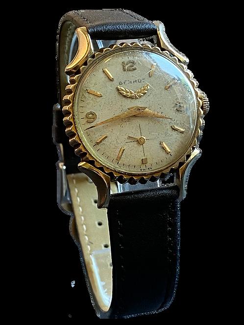 Benrus 'Soda BottleTop' c.1950 Gents Dress Watch