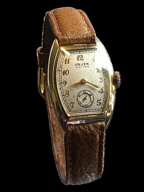 Gruen Veri-Thin Gents Watch c.1939