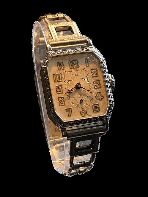 1920's Helbros Gents Dress Watch on Bracelet