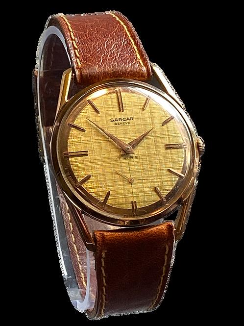 Sarcar Gents 1970's Dress Watch