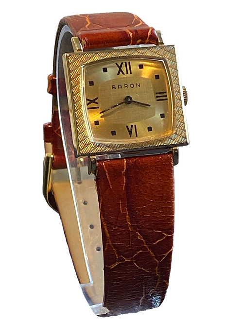 Baron 1960's Gents Mid Size Dress Watch