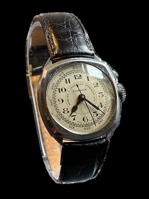 Marine Overseas Services Ltd London Gents Watch / Stopwatch