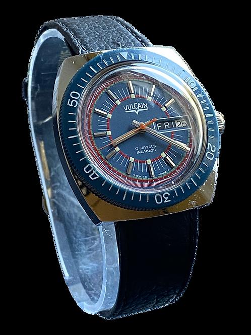 Vulcain Gents 1970's Divers Watch