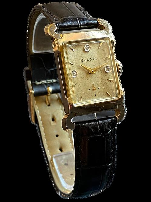 Bulova Craftsman 1955 Diamond set Gents Dress Watch