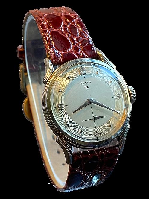 Elgin Shockmaster  681 c.1960 Gents Dress Watch