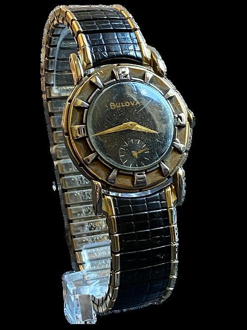 Bulova Air King 1952 Gents Dress Watch Rare !