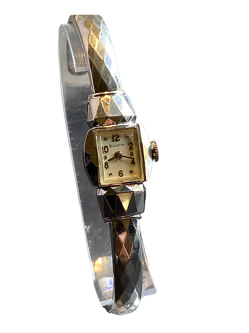 Bulova 1957 American Girl  Ladies Bangle Watch