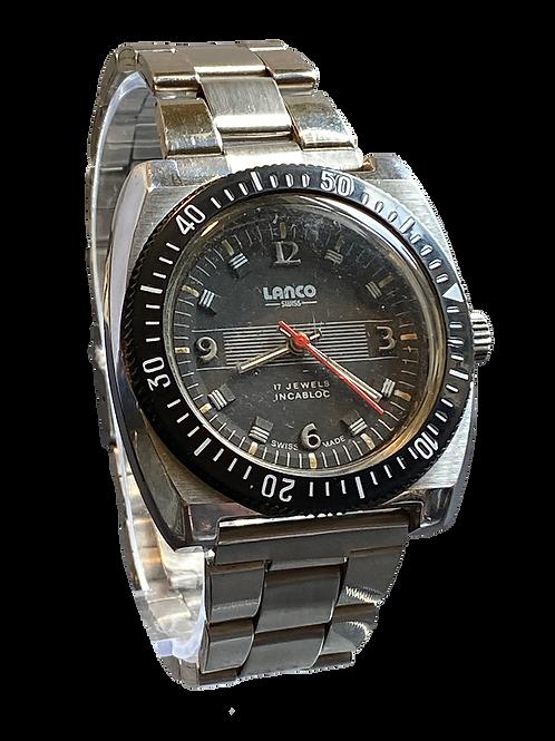 Lanco Gents Divers Watch 1970's