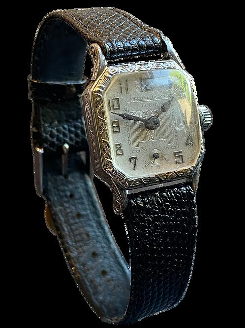Luor Gents Deco Dress Watch c1925