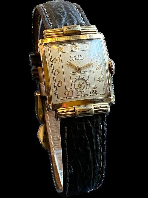 Gruen Curvex Gents Dress Watch c.1950