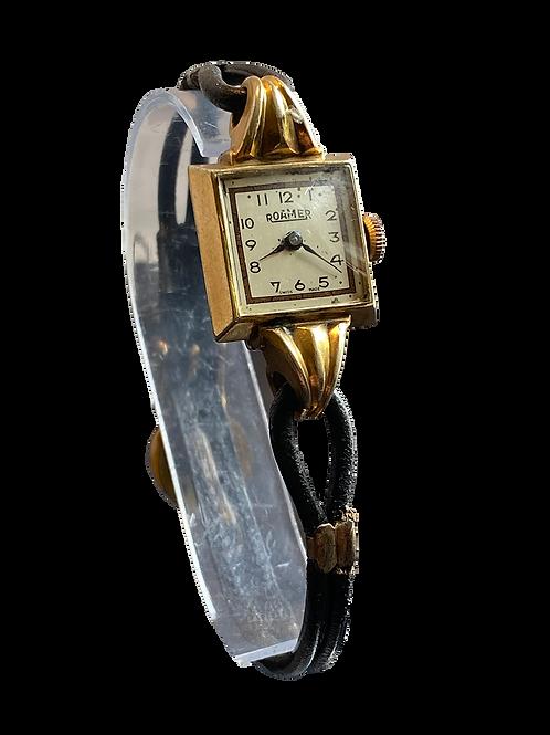 Roamer 1940's Ladies Dress Watch on strap