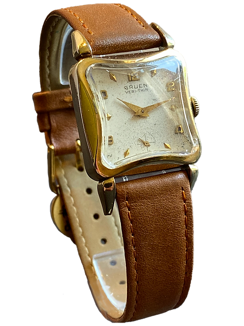 Gruen Veri-thin Gents Dress Watch 1950's