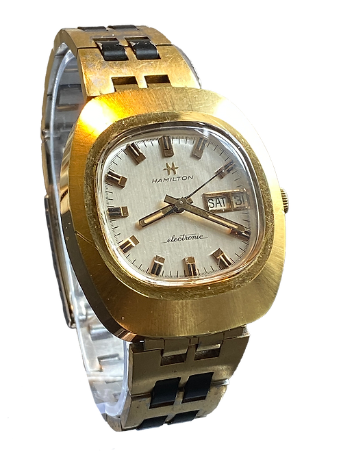 Hamilton Atlas  Electronic 1970's Gents Watch on Bracelet