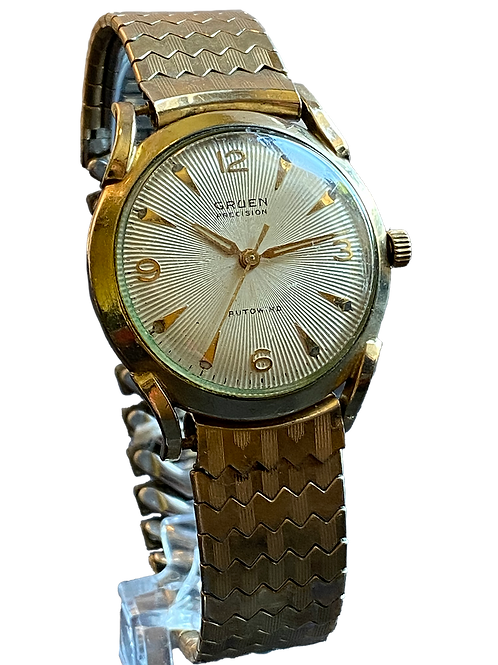 Gruen Precision Autowind c.1950 Gents Dress Watch