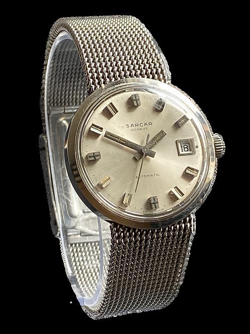 Sarcar Geneve Gents Automatic Bracelet Watch 1970's