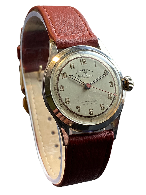Election Grand Prix Gents 40's Military Watch