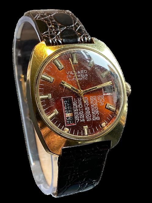 Villard 'Permadate' Gents Automatic Watch 1970's
