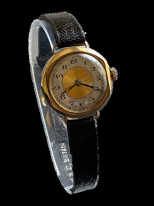 1926 9ct Gold Ladies Dress Watch