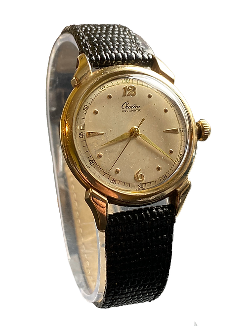 c.1952 Gents Croton Aquamatic Dress Watch