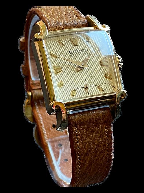 Gruen Veri-Thin 1950's Gents Dress Watch
