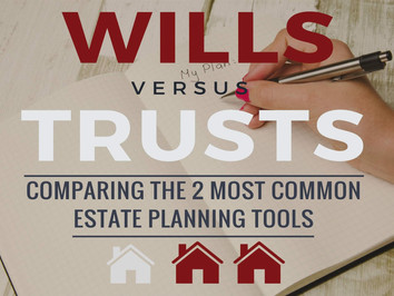 Wills VS Trusts [Infographic]