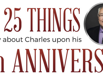 25 Things to Know About Charles on his 25th Anniversary