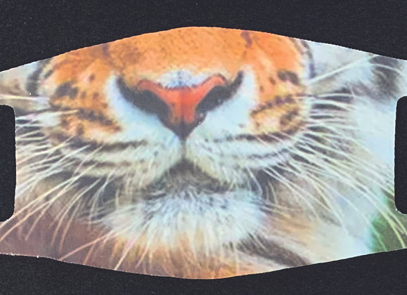 Tiger face mask, adult