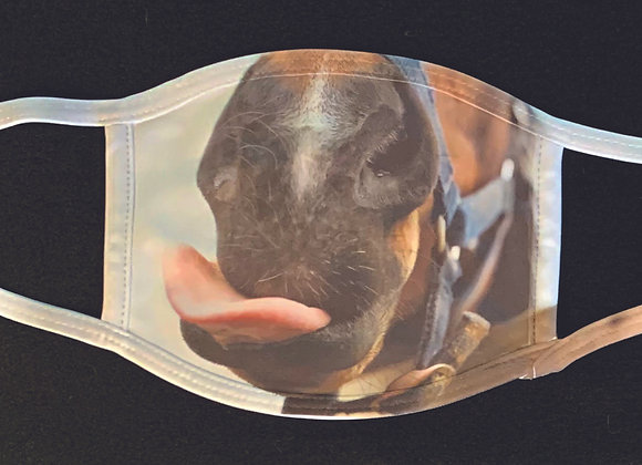 Horse face mask, adult