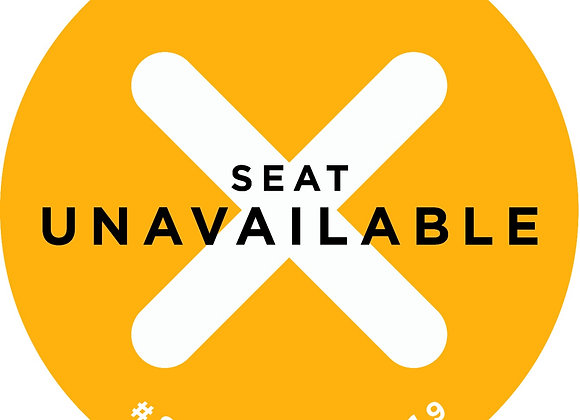 8 inch Seat Unavailable Yellow