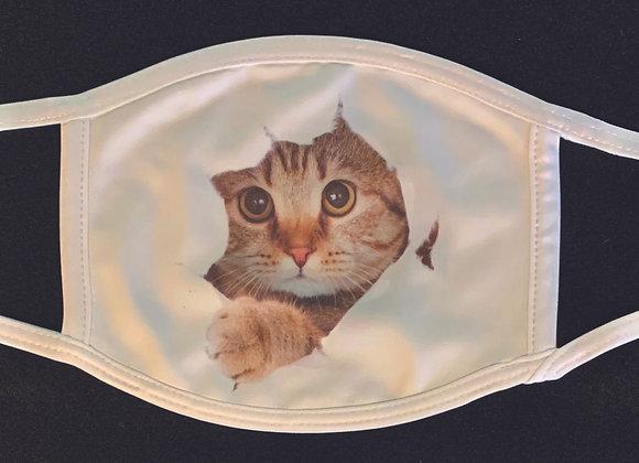 Kitten face mask Adult