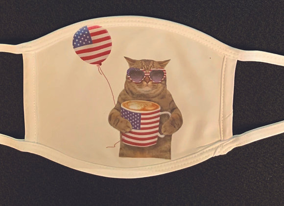 American Cat face mask, adult