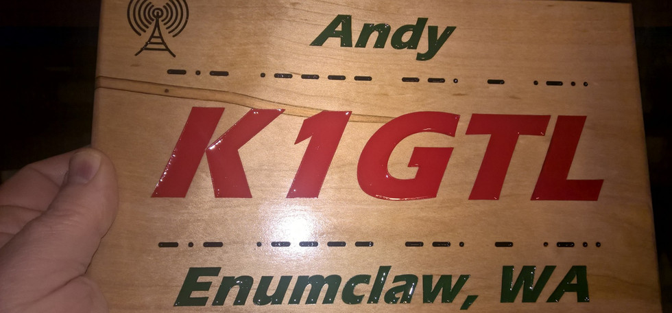 CNC Router sign