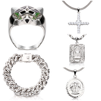Silver Jewelry Product Photos