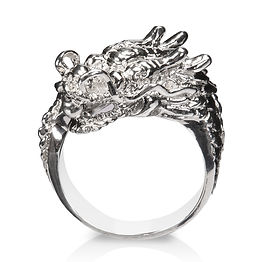 Silver Dragon Ring Picture for Shopify Seller
