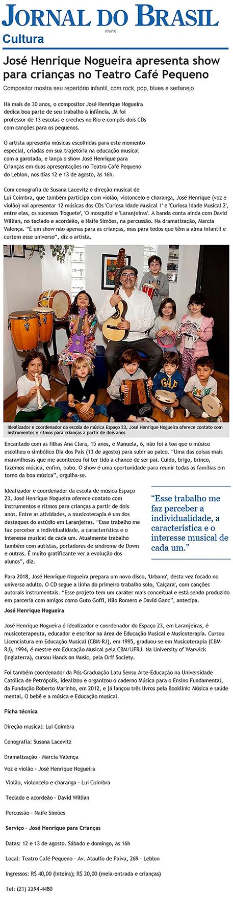 Jornal do Brasil - Cultura