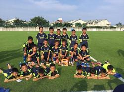 2018第五屆武士岸盃少年邀請賽U9組亞軍、U11組亞軍