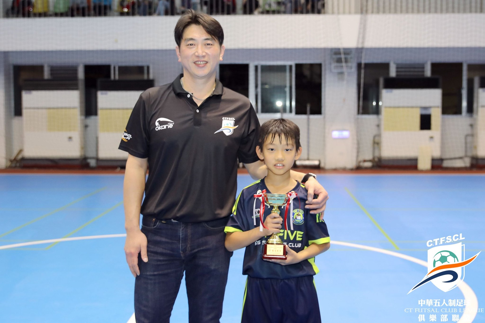 2019中華五人制足球聯盟-U12最佳球員/銅靴-杜秉閎
