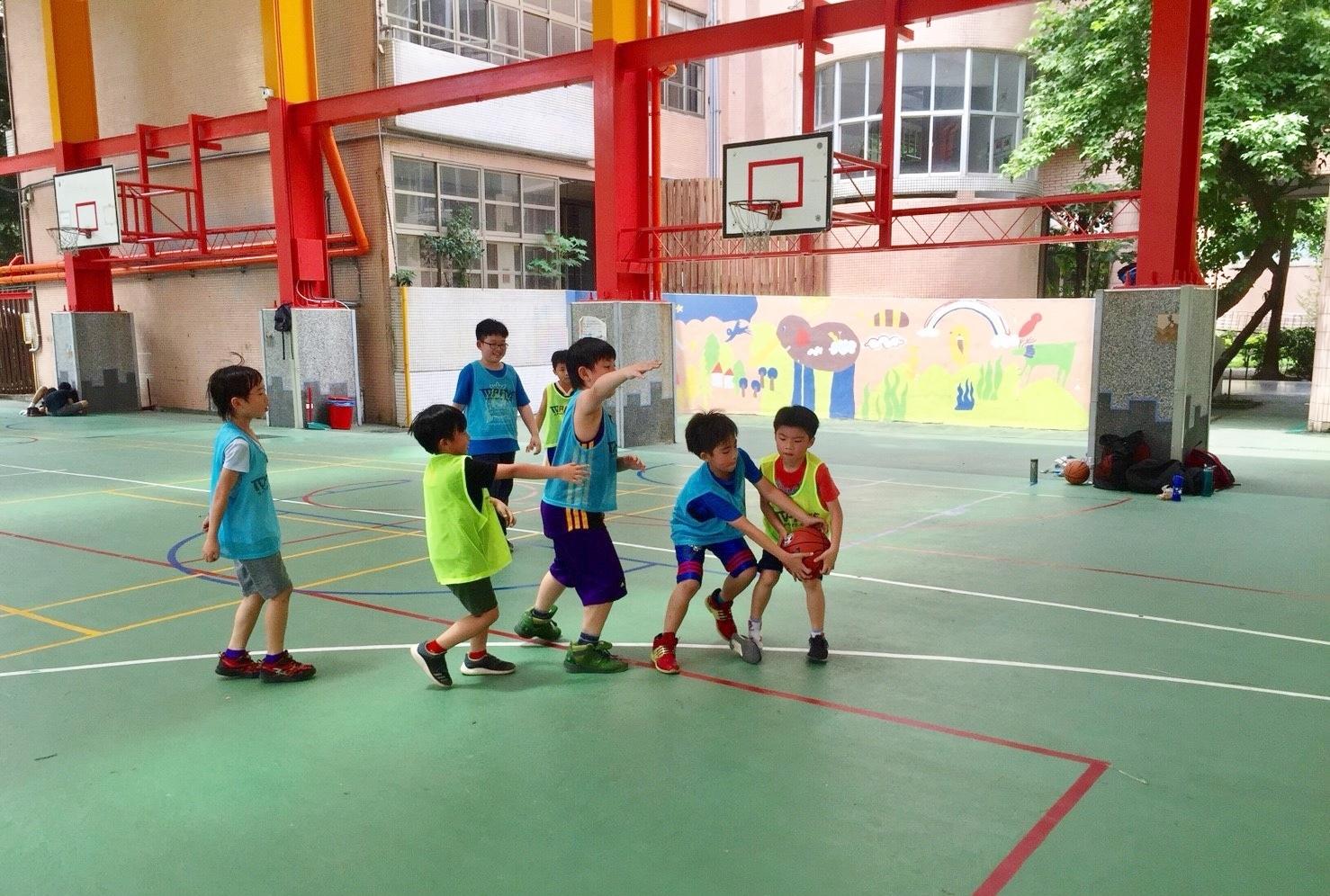 籃球對抗賽