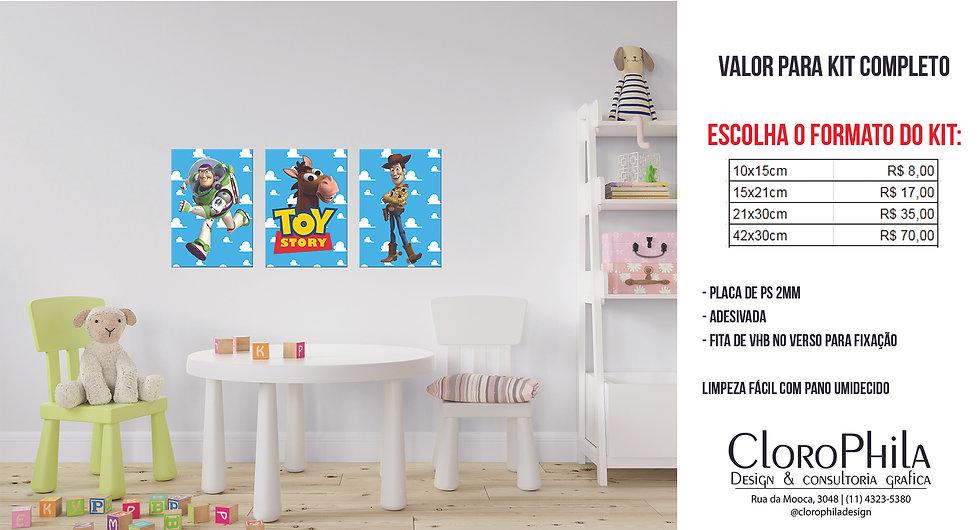 Quadro Decorativo Toy Story