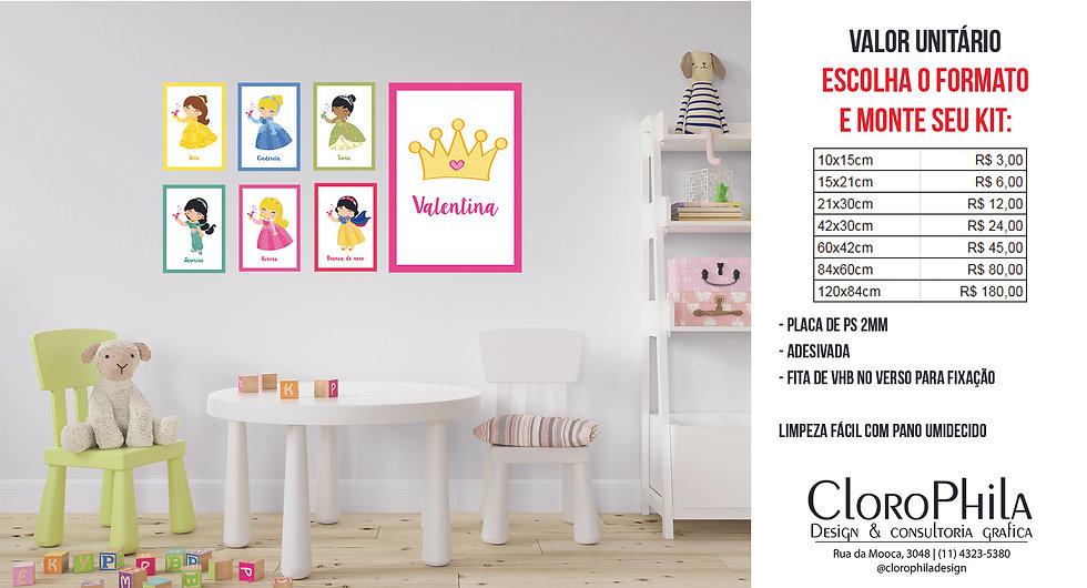 Conjunto Quadros Decorativos Infantil
