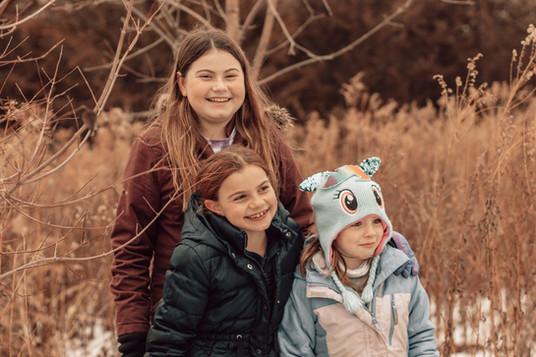 Lily, Maddie, & Evie