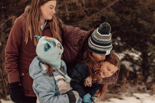Katie, Lily, Maddie, & Evie