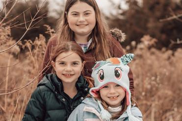 Lily, Maddie, Evie