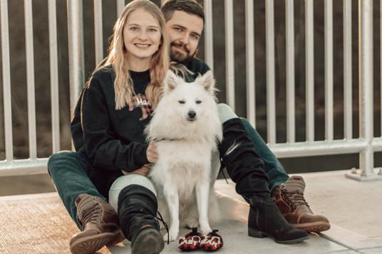 Family Pic on Bridge