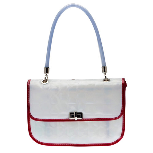 BBB - GRACE - White with Red Accents