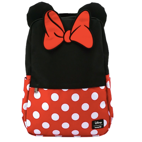 SB / LOUNGEFLY X DISNEY MINNIE MOUSE COSPLAY NYLON BACKPACK