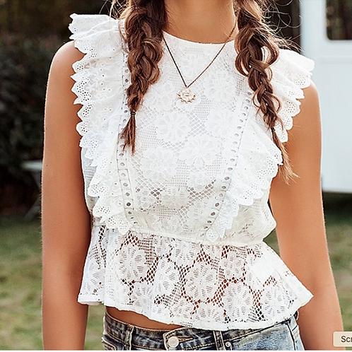 AD/Aia Lace blouse