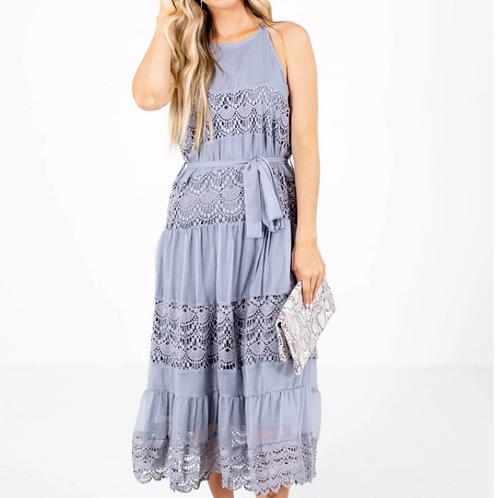 AD/Akiara Lace Midi Dress