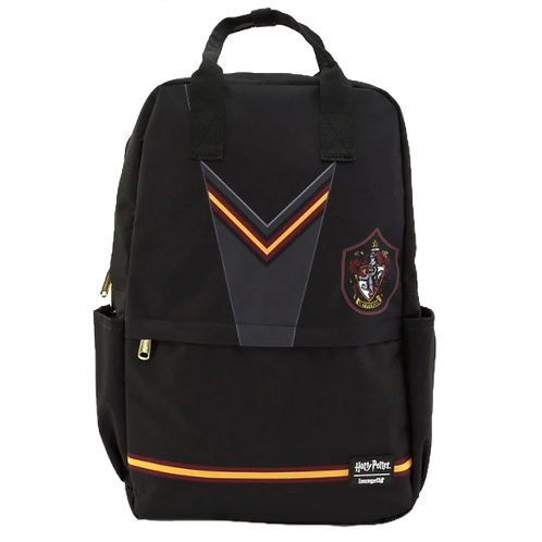 SB/ LOUNGEFLY X HARRY POTTER GRYFFINDOR SUIT SQUARE NYLON BACKPACK