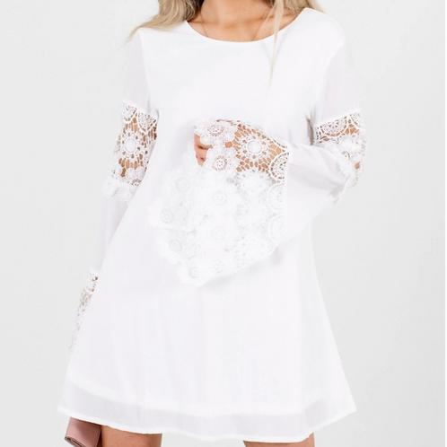 AD/Akiri White Mini Dress